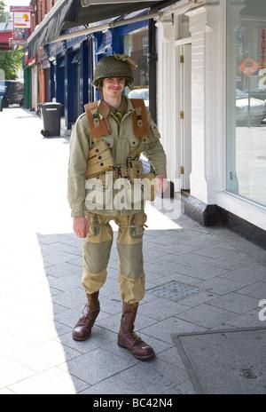 ww 2 american soldier uniform - Stock Photo