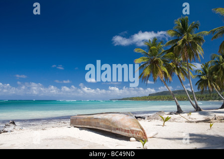 Dominican Republic - North Coast - Samana Peninsula - Las Galeras - Stock Photo