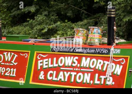 2009 Braunston Historic Narrowboat Rally Doug Blane - Stock Photo