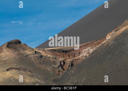 Vulcano on Fogo Cabo Verde Africa - Stock Photo