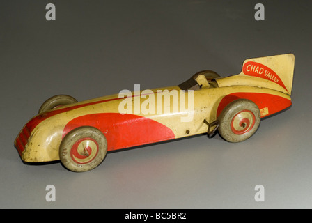 Tin toy car,from my personal collection - Stock Photo
