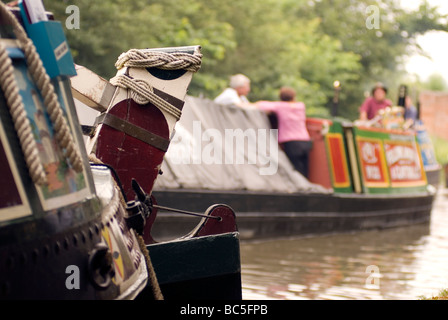 2009 Braunston Historic Narrowboat Rally Doug Blane - Stock Photo