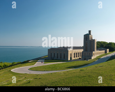 R C Harris Water Treatment Plant in Toronto - Stock Photo