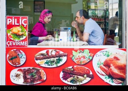 Istanbul turkey kebab restaurants on taksim square at for Divan kebab carte