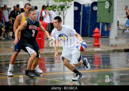 Gus Macker Basketball Tournament 2009 Buffalo, NY - Stock Photo