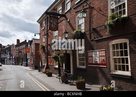 The Angel Hotel, King Street, Knutsford, Cheshire, England - Stock Photo