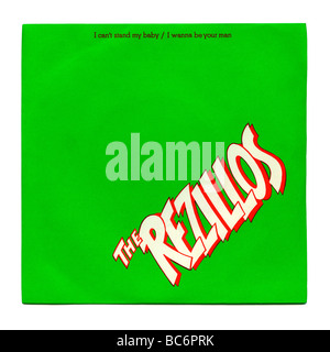 'I Can't Stand my Baby' single by The Rezillos, a punk rock record first released in 1977 - Stock Photo