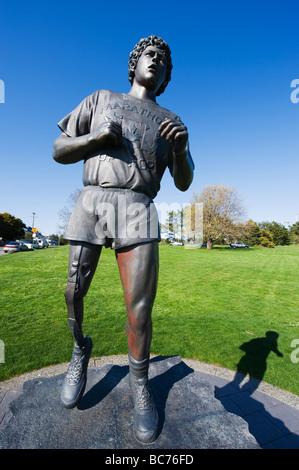 Terry Fox Statue, Victoria, Vancouver Island, British ... | 299 x 470 jpeg 42kB