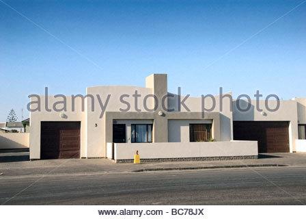 Afrika, Namibia, Walvis Bay, Wohnhaus, Modernes Haus   Stock Photo