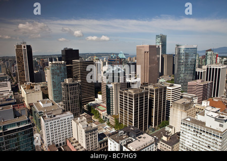 Central and Western Vancouver British Columbia Canada - Stock Photo