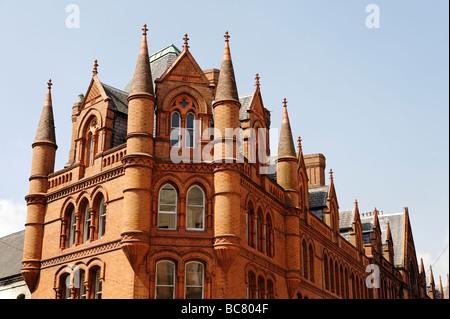 South City Market red brick building aka George s Street Arcade in Dublin Republic of Ireland - Stock Photo