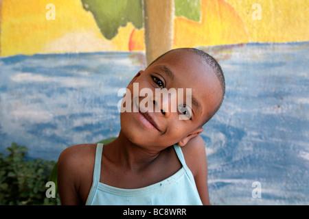 Painet jj1741 people girl child person face kid namibia bernard girl child person face kid namibia bernard nordkamp - Stock Photo
