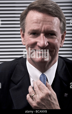 Rick Wagoner Chairman and CEO of General Motors - Stock Photo