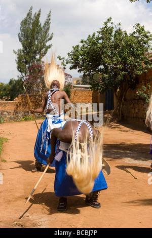 Intore Dancers, Kigali, Rwanda - Stock Photo