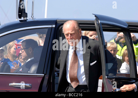 Duke of Edinburgh Prince Phillip - Stock Photo