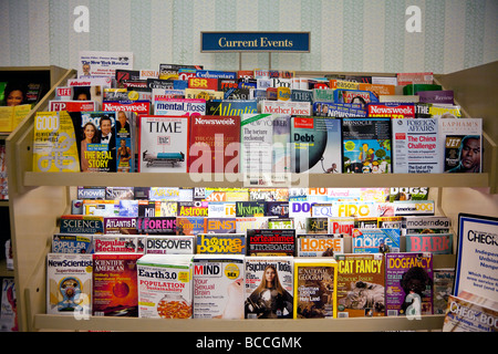 Current Events Magazines On Shelves Barnes And Noble USA Stock - Current time in usa
