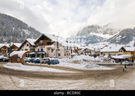 Corvara in Badia Bolzano Italy - Stock Photo