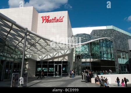 Westfield London shopping centre, White City, England UK - Stock Photo