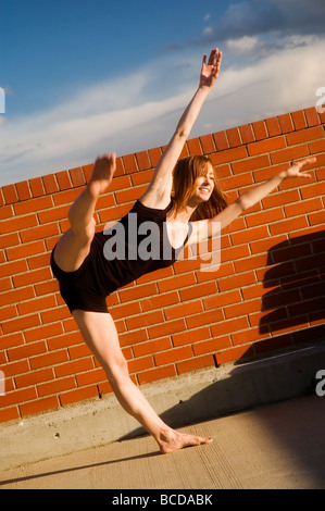 Ballerina posing - Stock Photo