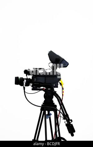 Television camera - Stock Photo
