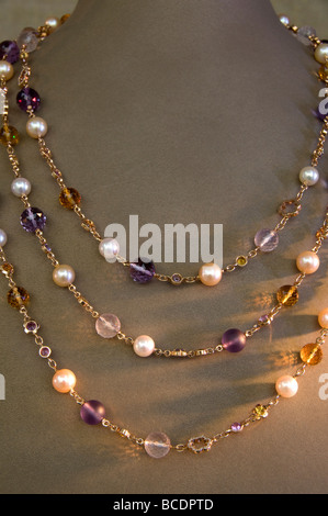 Buccellati Place Vendome Paris Juwel Juweler chain - Stock Photo