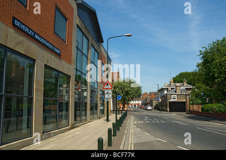 Magistrates Court Lord Roberts Road Beverley East Yorkshire England UK United Kingdom GB Great Britain - Stock Photo