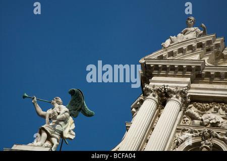 Chiesa di Santa Maria Del Giglio, Venice, Italy - Stock Photo