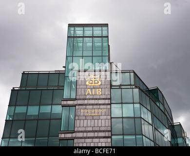 aib bank dublin ireland - Stock Photo