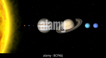 solar system relative distances in - photo #45