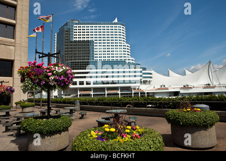 Canada Place Vancouver British Columbia Canada - Stock Photo
