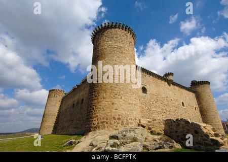 Barco de Àvila Castle Avila province Castilla León - Stock Photo