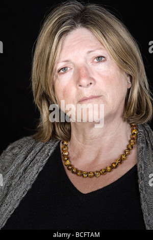 Shot of a Senior Lady Looking Concerned - Stock Photo