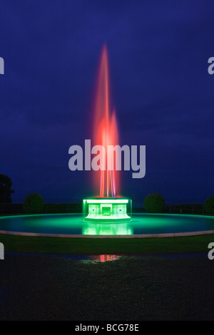 Tom Parker Fountain, Napier, North Island, New Zealand - Stock Photo