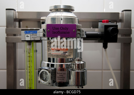Wall Mounted Anaesthetic Machine - Stock Photo
