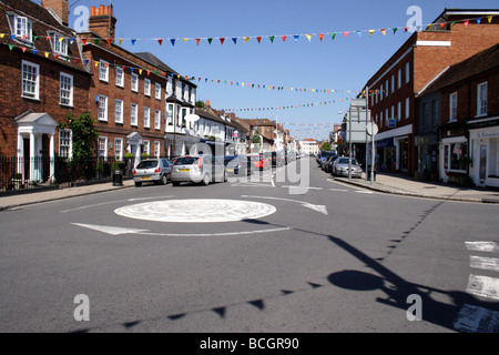 High Street Marlow Buckinghamshire May 2009 - Stock Photo
