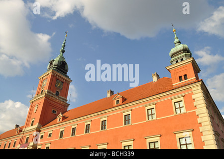 The Royal Castle in Warsaw - Stock Photo