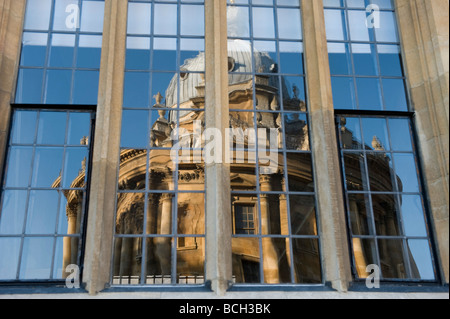 The Sheldonian Theatre in Oxford is where ceremonies and meetings and events take place for the University -a Wren - Stock Photo