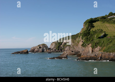 Combe Martin Devon England Stock Photo 39854864 Alamy