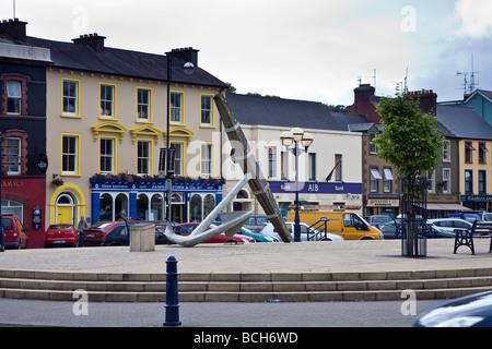 Wolfe Tone Square Bantry West Cork Ireland - Stock Photo
