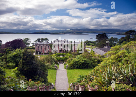 Bantry House Bantry Bay Bantry West Cork Ireland - Stock Photo