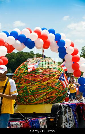Puerto Rican Pride Parade in Chicago, Illinois 2009 - Stock Photo