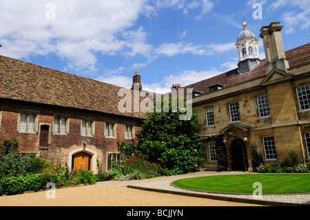 Trinity Hall College Cambridge England Uk - Stock Photo