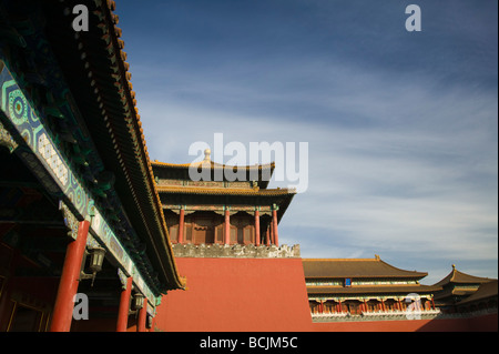 China, Beijing, Forbidden City, Meridian Gate - Stock Photo