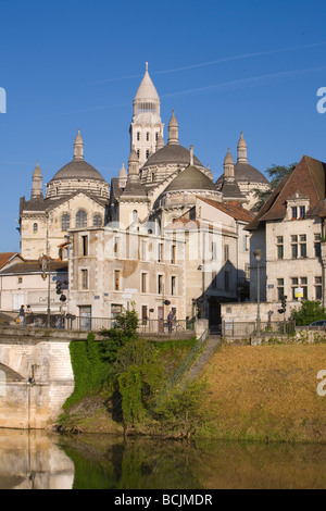 St. Front Cathedral, Periguex, Dordogne, France - Stock Photo