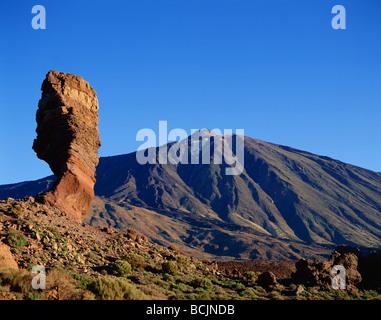 Spain, Canary Islands, Tenerife, Mount Teide Volcano - Stock Photo