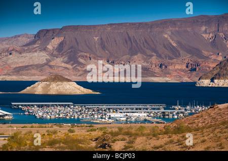 USA, Nevada, Lake Mead - Stock Photo