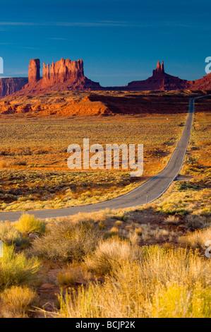 USA Arizona-Utah Monument Valley - Stock Photo