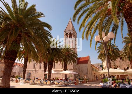 Dominican Monastery - Trogir Croatia - Stock Photo