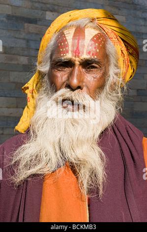 Hindu sadhu - Stock Photo