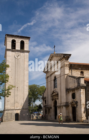 Croatia Istria Pula Cathedral - Stock Photo